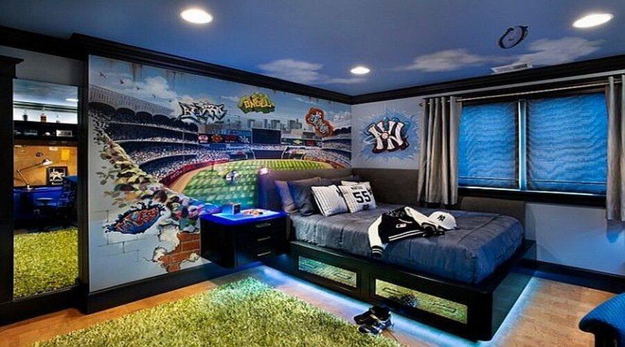 10 Cool Teenage Boy 39 S Bedroom Interior Design Ideas