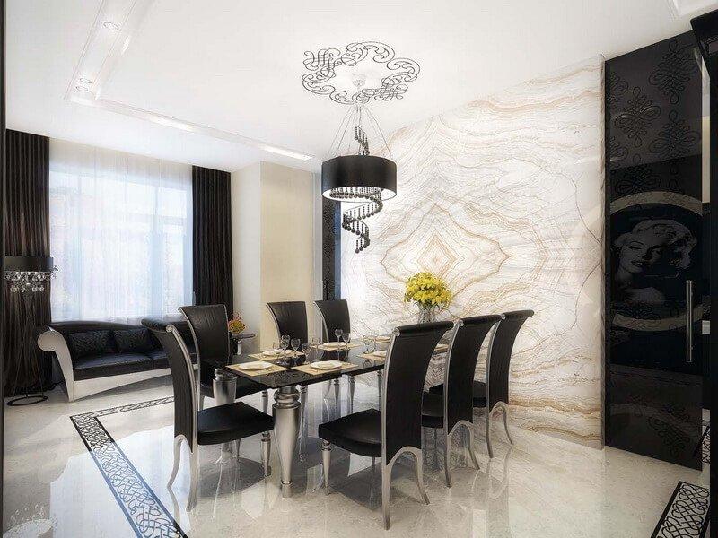 friendly-decor-for-elegant-design-designs-natural-modern-apartment-dining-room