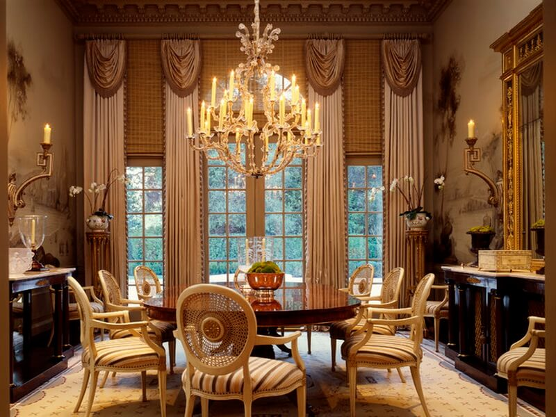 georgiantraditional-dining-room