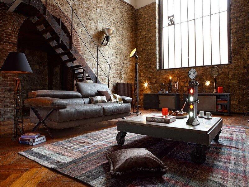 10 modern industrial style interior design ideas https for Amazing interior decoration