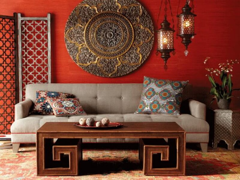 Gorgeous Moroccan Inspired Living Room Part 74