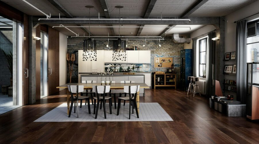 10 Modern Industrial Style Interior Design Ideas Https