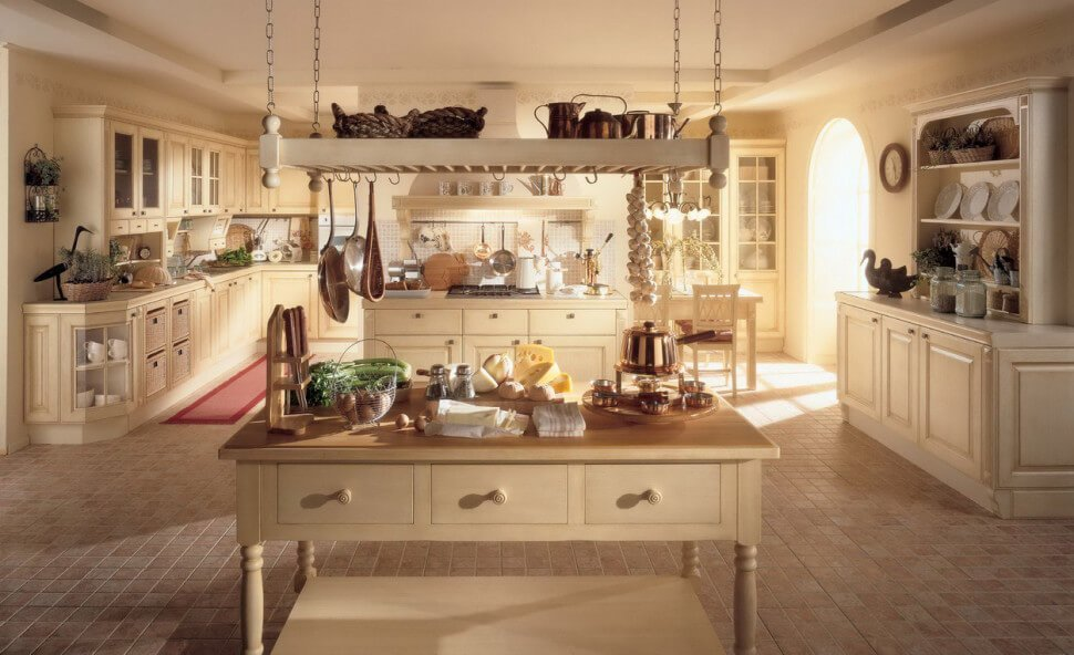 10 charming country kitchen interior design ideas https for Amazing country kitchens