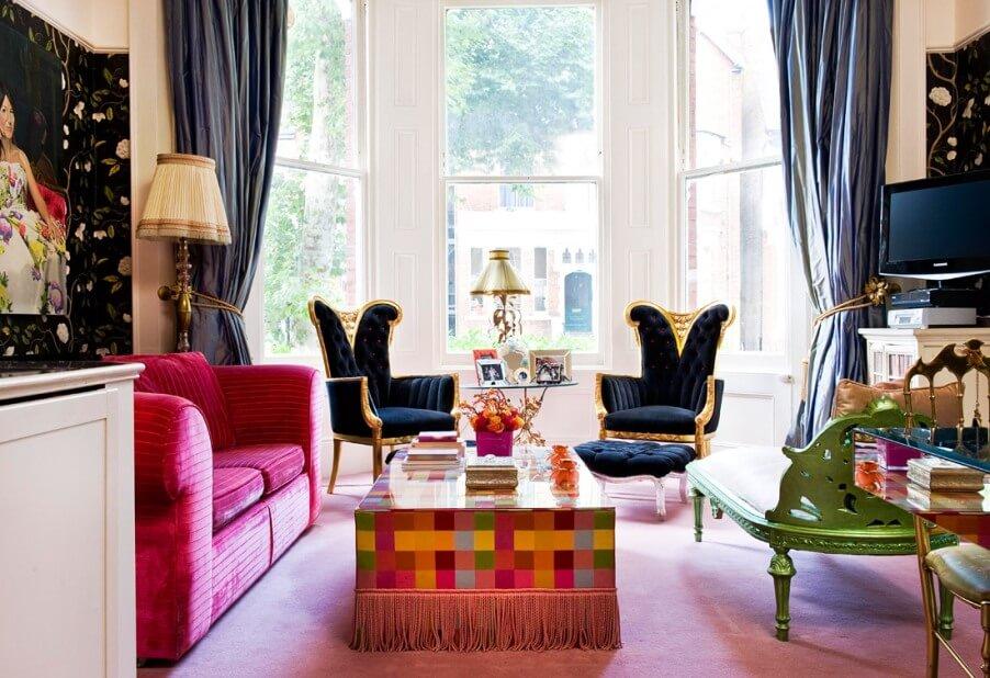 10 stunning boho chic living room interior design ideas for Boho chic living room designs