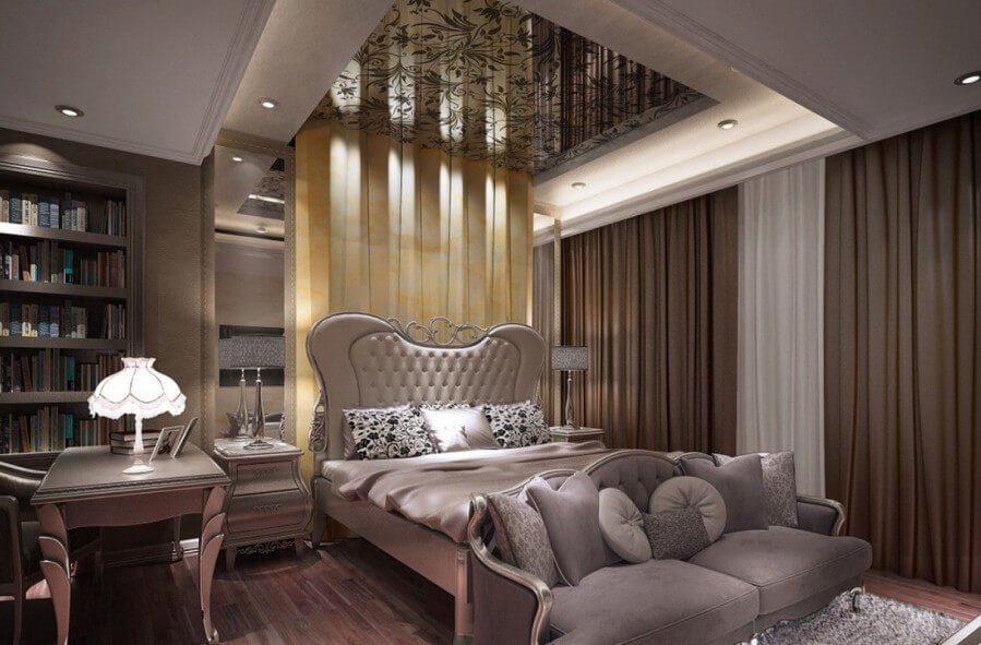 Bold Elegant Bedroom
