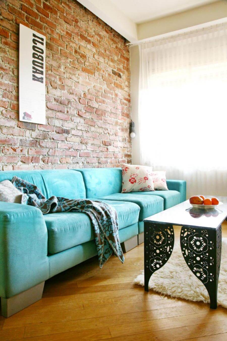 10 brick walls living room interior design ideas https for Interior design ideas for living room walls