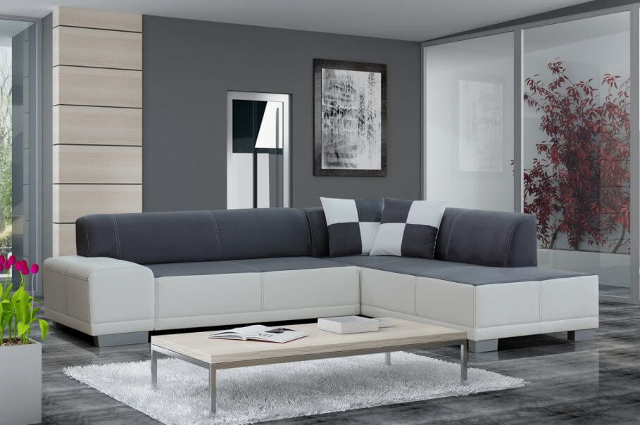 10 modern grey living room interior design ideas https for Decoration coin salon moderne