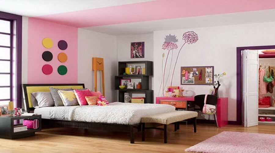 Colorful Bedroom 10 colorful bedroom interior design ideas - https://interioridea/