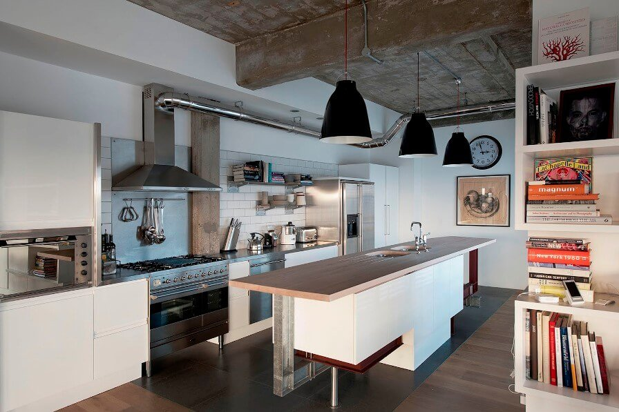 Cool Industrial Kitchen