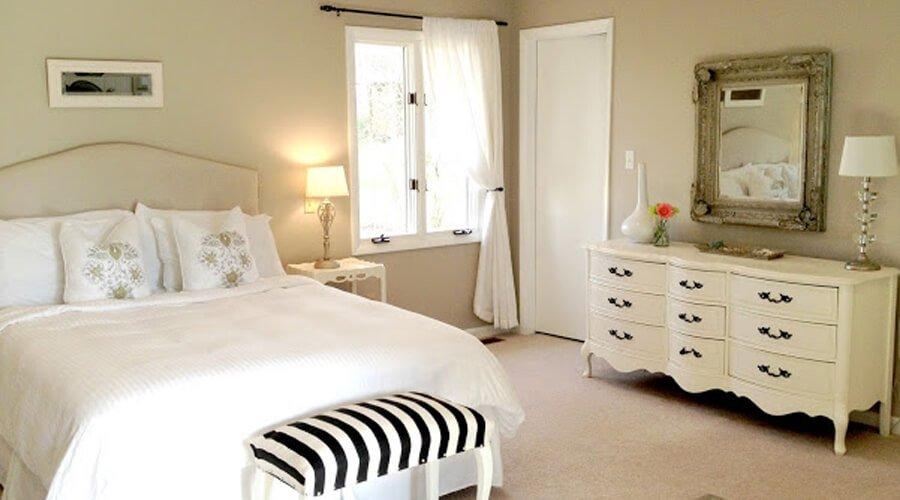 Creamy Elegant Bedroom