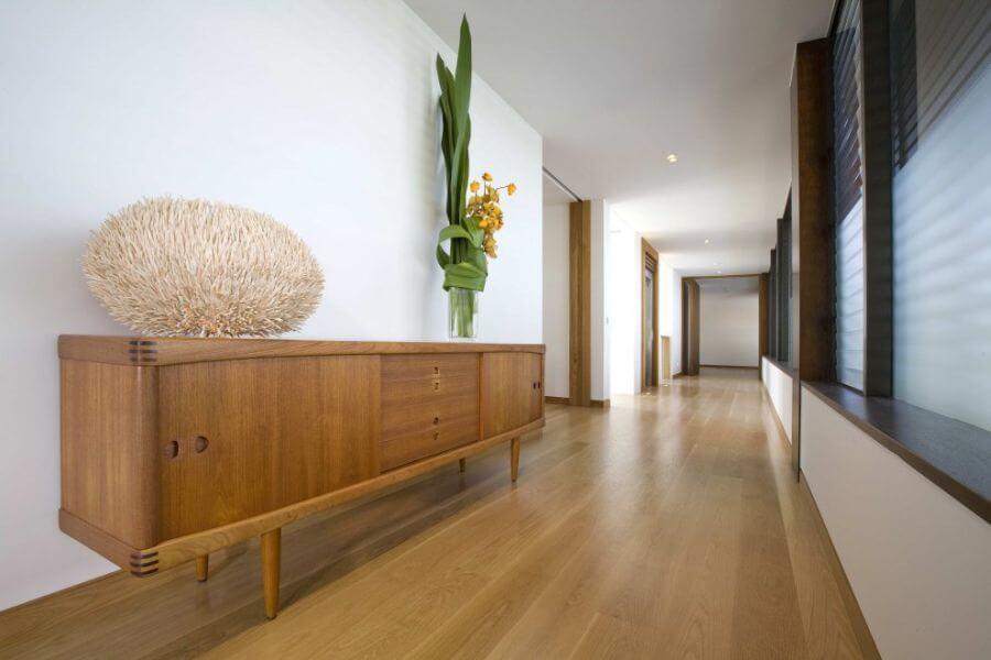 Long Contemporary Hallway