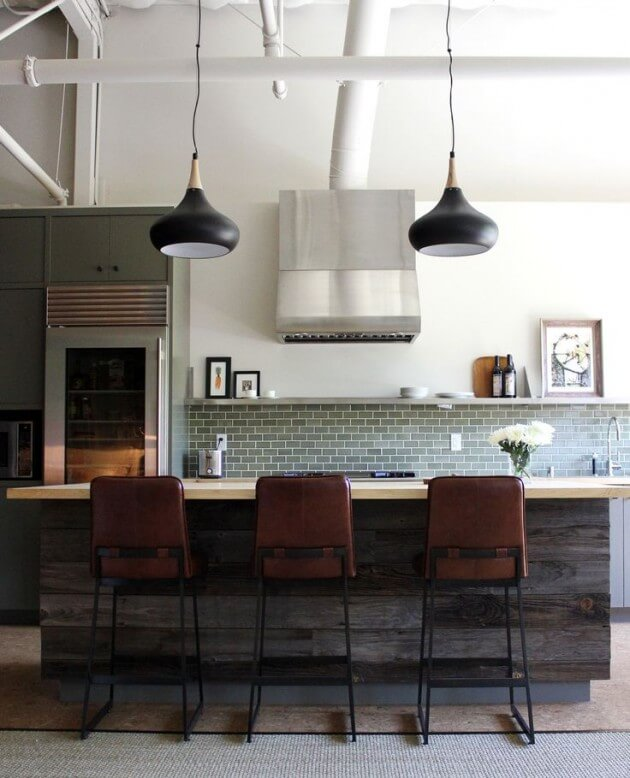 Modern Indsutrial Kitchen