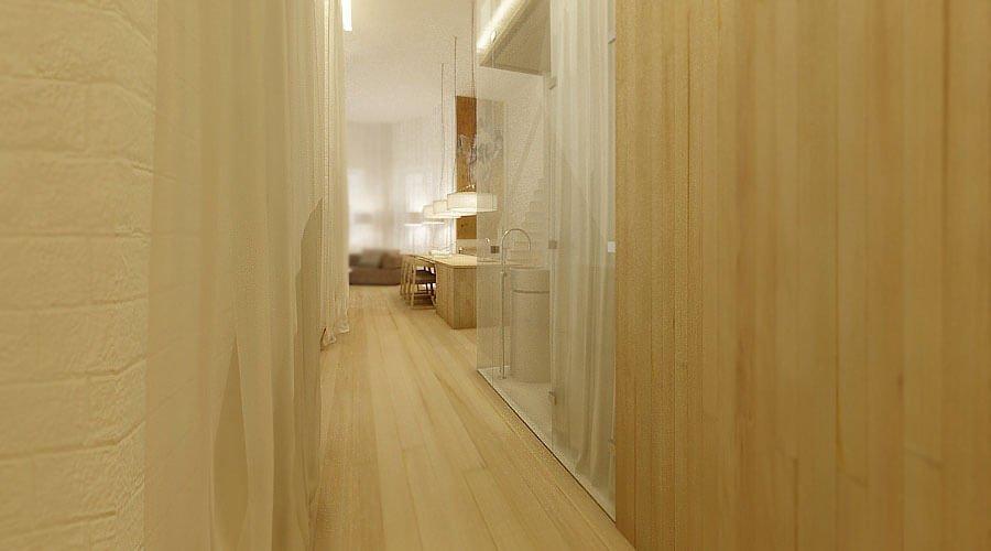 Sleek Contemporary Hallway