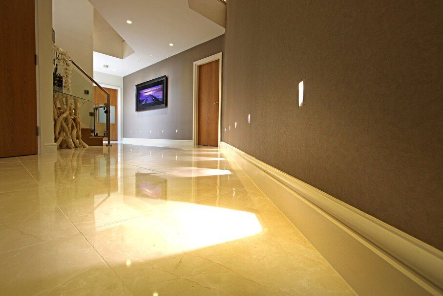 Spacious Contemporary Hallway