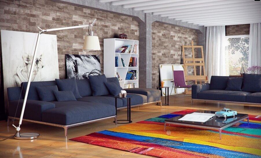 Living Room Design Brick Wall Interior 10 Brick Walls Living Room Interior Design Ideas Https