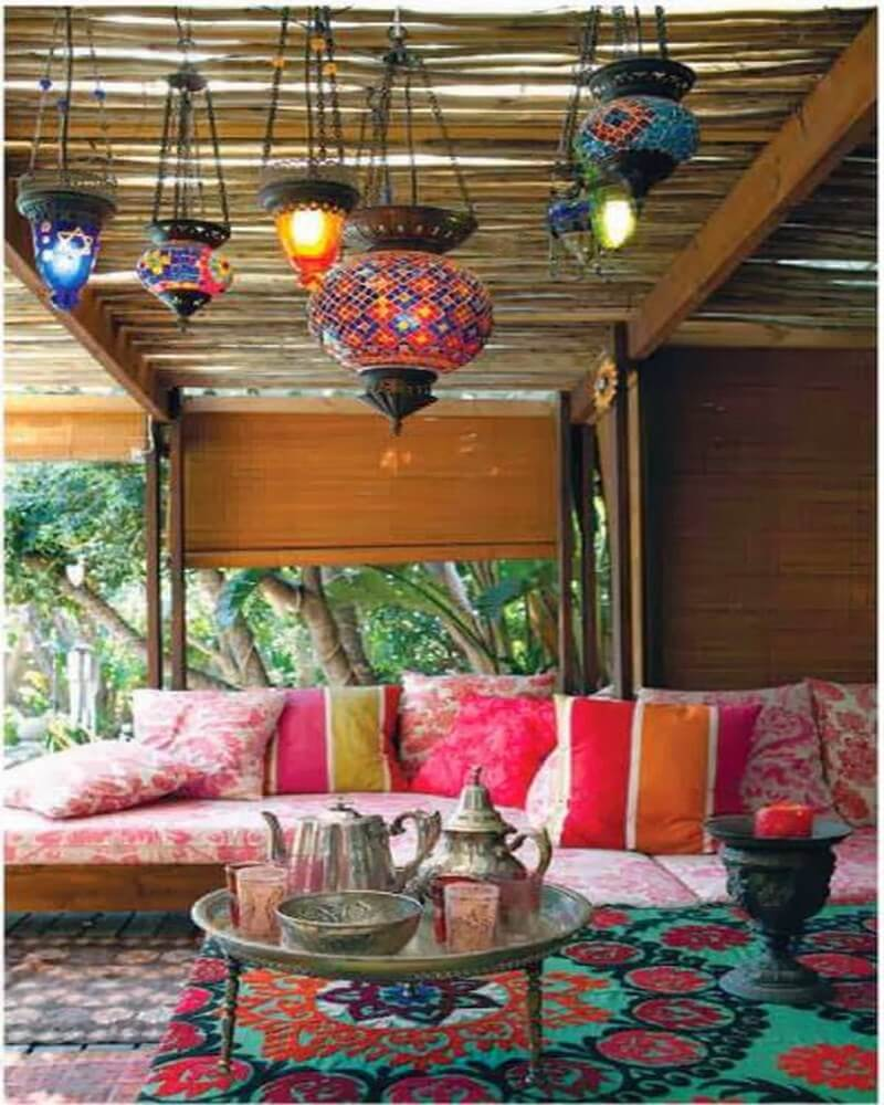 10 Charming Bohemian Patio Design Ideas - https ... on Bohemian Patio Ideas id=30554