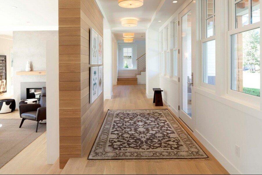 bright Contemporary Hallway