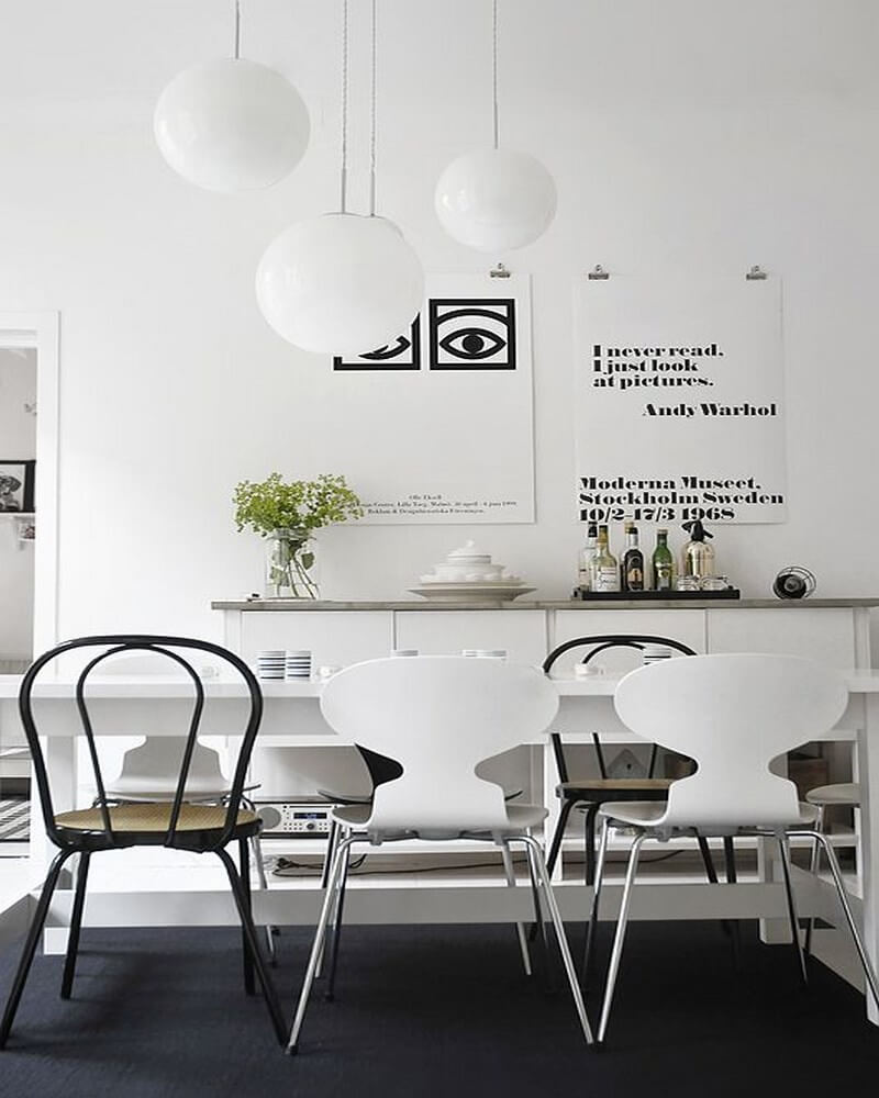 10 cool scandinavian dining room interior design ideas for Cool interior design blogs