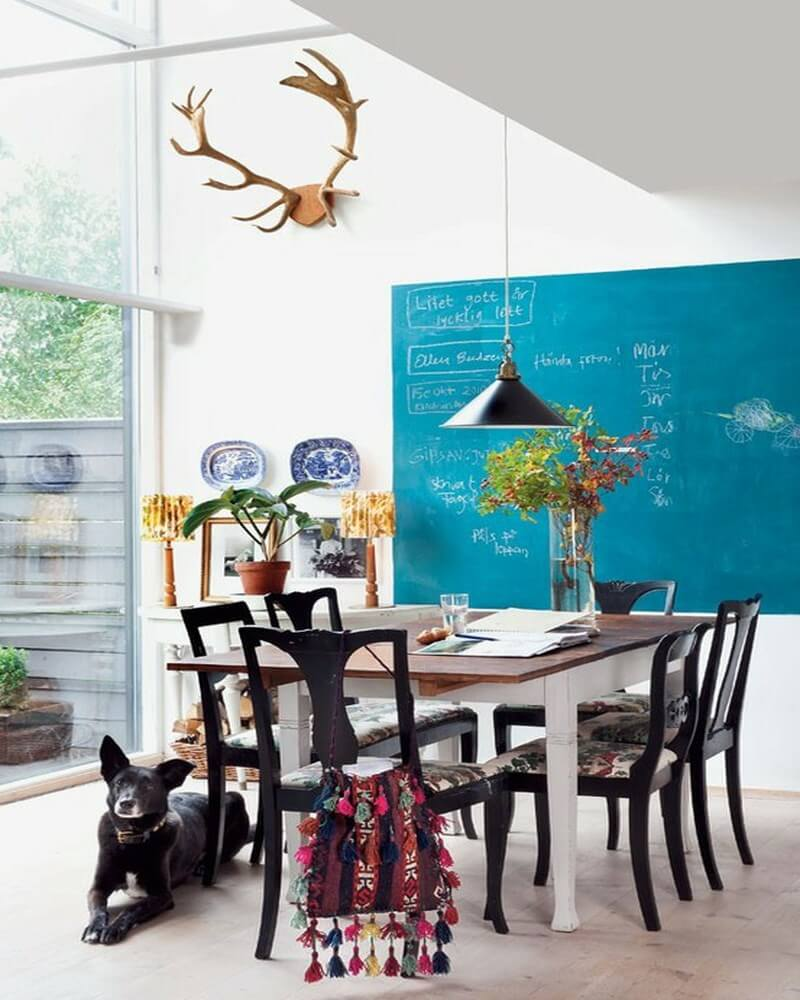 dining-area-with-a-virant-wall-chalkboard