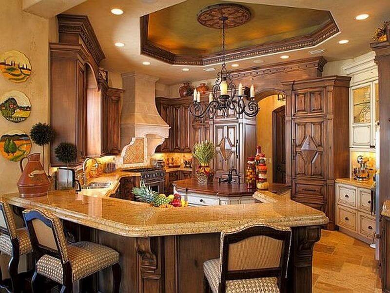10 Amazing Mediterranean Kitchen Interior Design Ideas ...