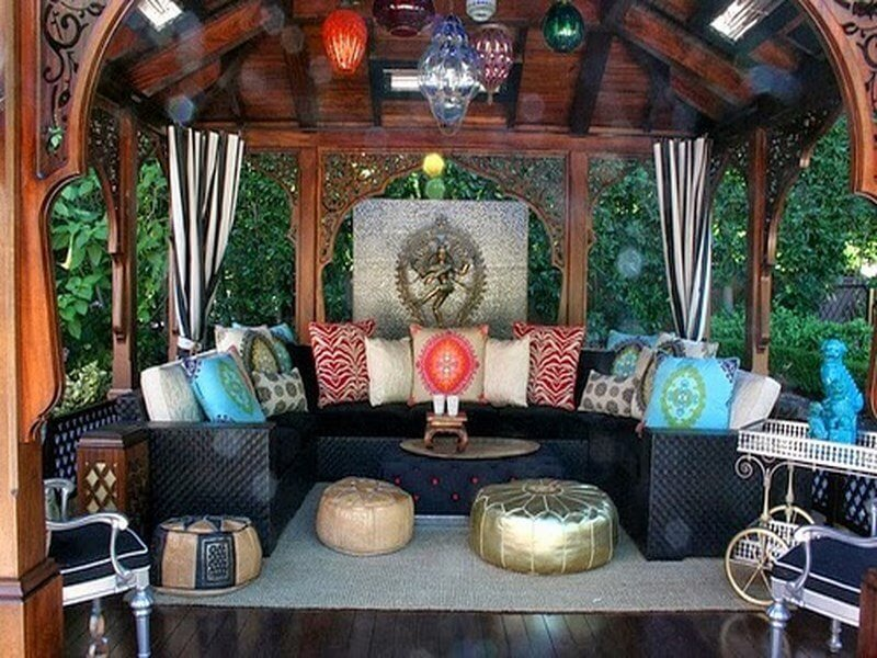10 Charming Bohemian Patio Design Ideas - https ... on Bohemian Patio Ideas id=95504