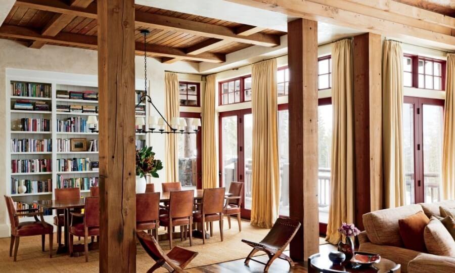 Amazing Rustic Dining Room