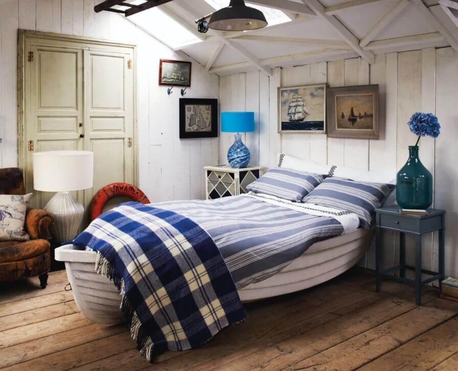 Authentic Beach Bedroom