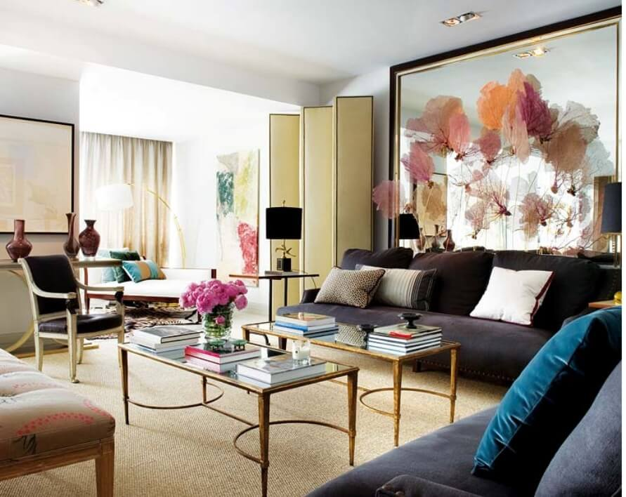 Bold Chic Living Room