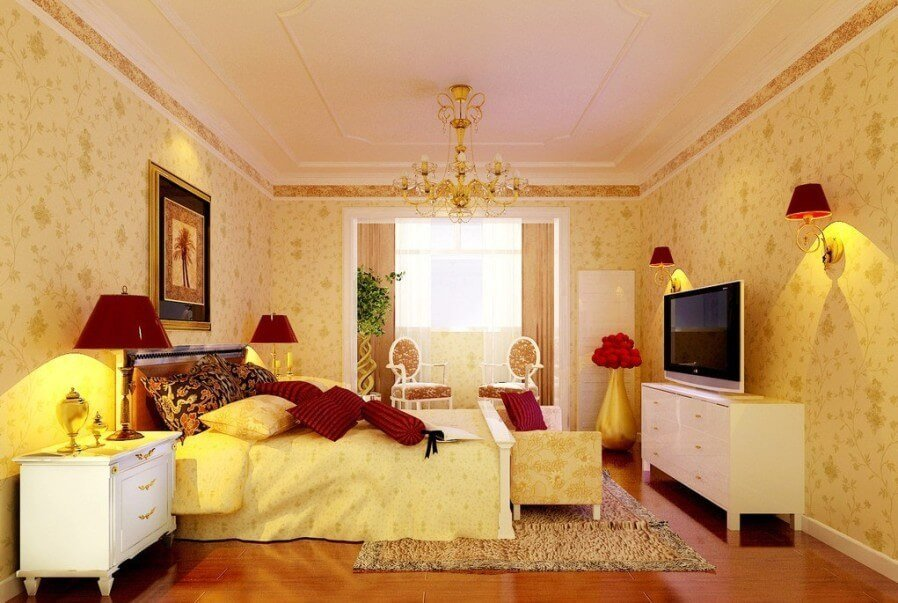 10 Cozy Yellow Bedroom Interior Design Ideas Https Interioridea