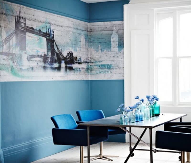 10 refreshing blue dining room interior design ideas