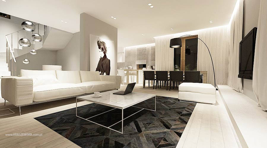 10 modern living room interior design ideas with geometric for 14 10 living room interior
