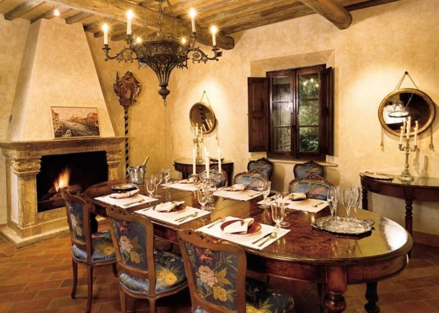 Natural Rustic Dining Room