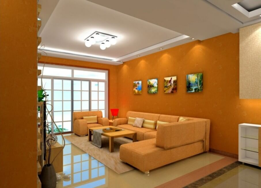 10 vibrant orange living room interior design ideas 15 lively orange living room design ideas rilane