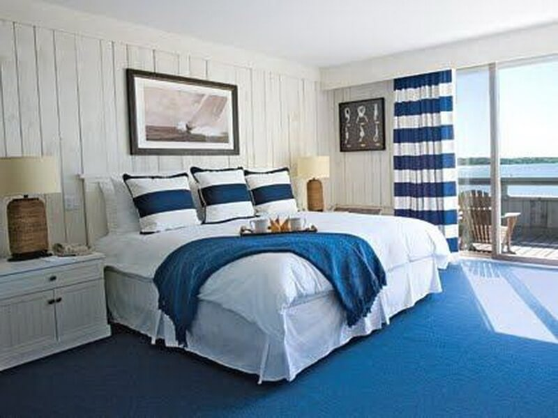 10 cool beach inspired bedroom interior design ideas for Blue beach bedroom ideas