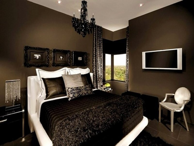 10 chocolate brown bedroom interior design ideas https Dark brown walls bedroom