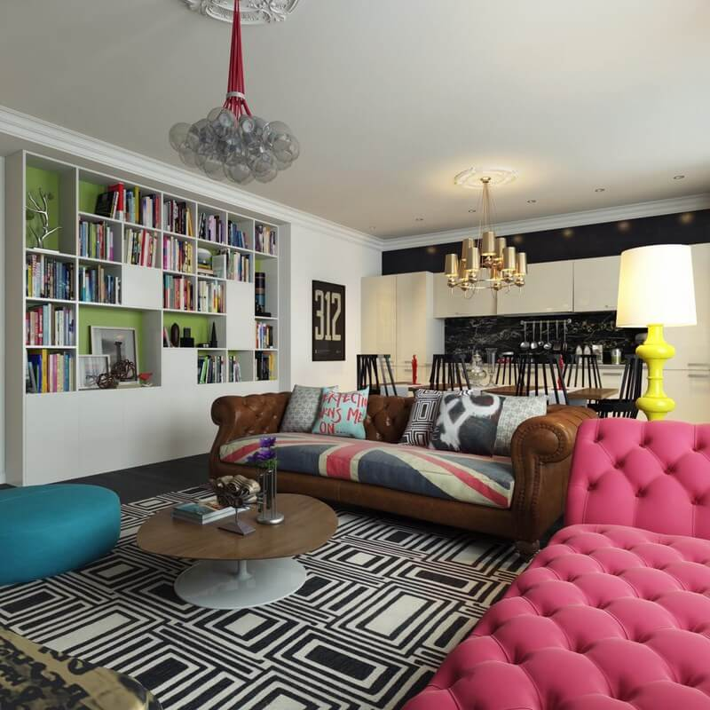 10 Whimsical Modern Retro Interior Design Ideas
