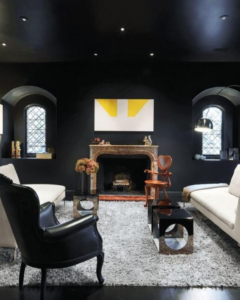 10 stylish dark living room interior design ideas https