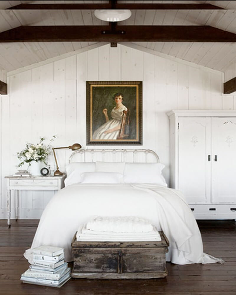 10 serene white bedroom interior design ideas https for Rustic elegant bedroom