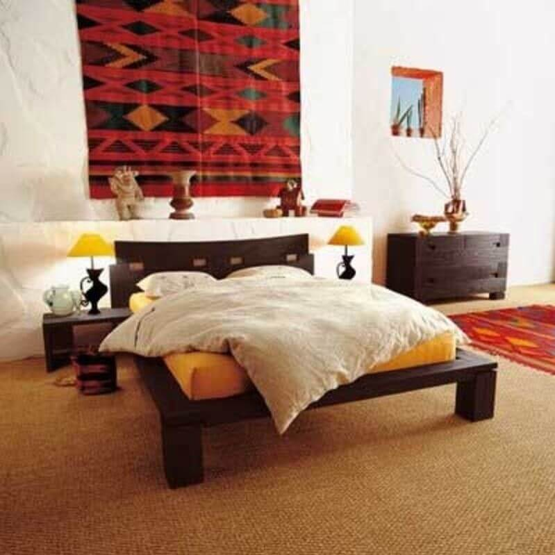 10 modern eclectic bedroom interior design ideas https for Bed decoration with net