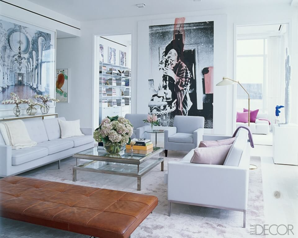 10 modern pop art living room interior design ideas for Family room decor images