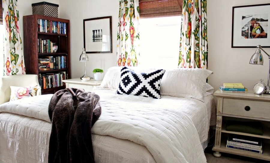 Cozy Eclectic Bedroom