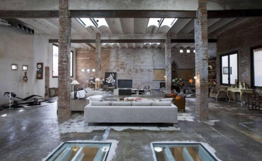 Downtown-Barcelona-Industrial-Loft-is-Reclaimed-to-Modern-Chic-Featured-on-Inhabitat-1