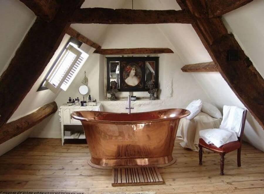 10 amazing attic bathroom interior design ideas - The rustic attic ...