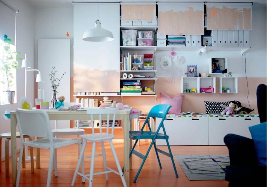 Beautiful Ikea Kid's Bedroom
