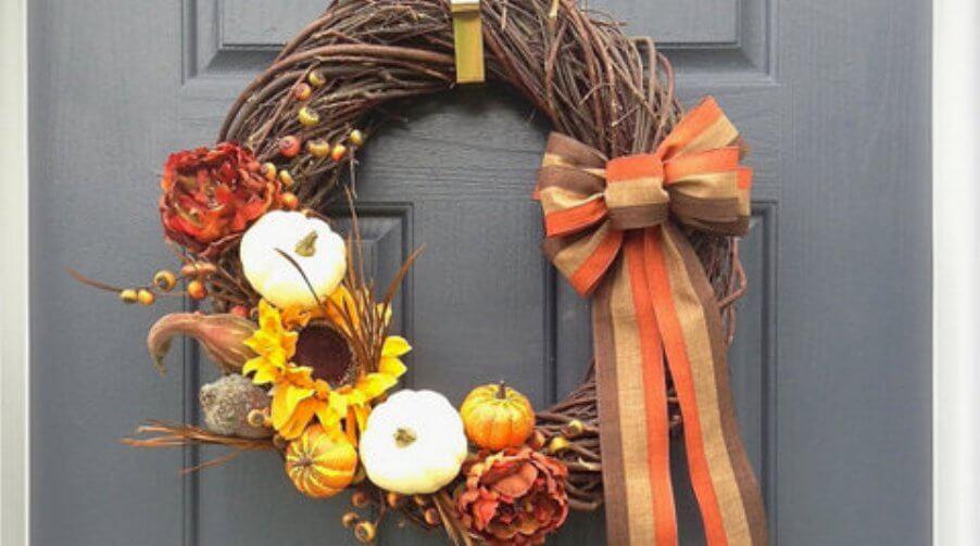 Beautiful Thanksgiving Wreath