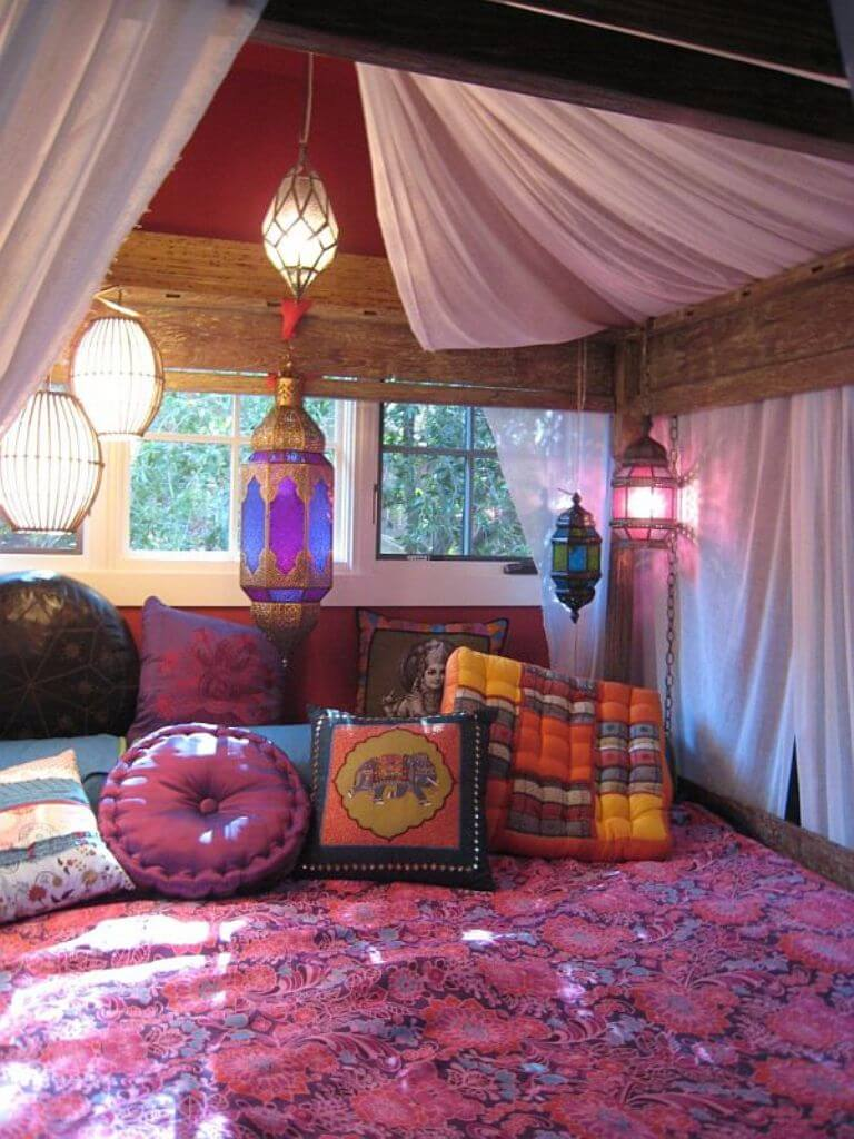 Indie hipster bedrooms - Teenage Bohemian Bedrooms Cukjatidesign Bohemian Themed Rooms Zampco
