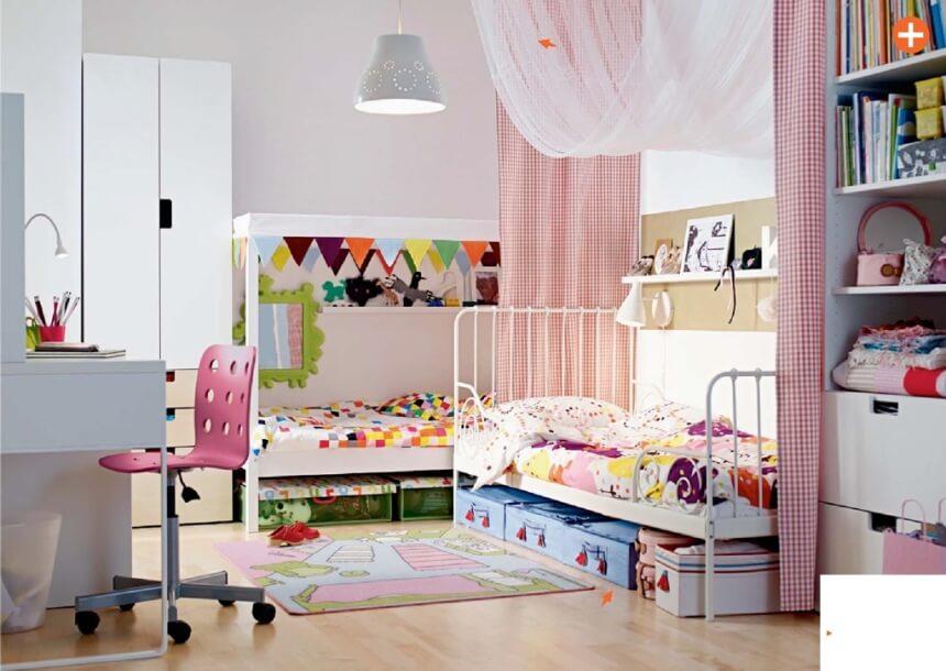 Charming Ikea Kid's Bedroom