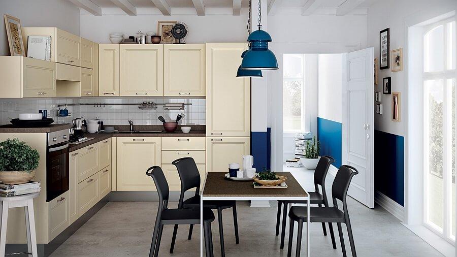 Cozy Small Italian Kitchen