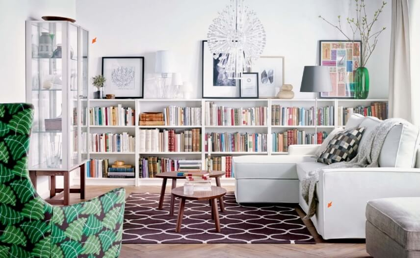 lovely ikea living room | 10 New and Fresh IKEA Living Room Interior Design Ideas ...