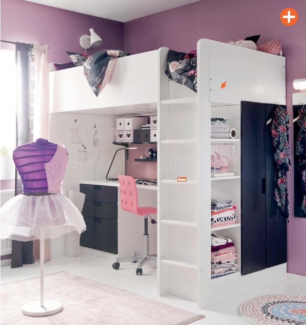 10 adorable ikea kid 39 s bedroom ideas for 2015 - Ikea girl bedroom ...